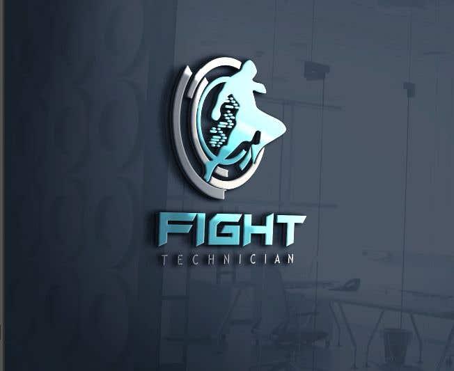Penyertaan Peraduan #160 untuk Tech Themed Fight Blog Logo Design