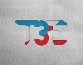 #80 for Logo with word: T3E using the following colors: white, red, light blue by nabiekramun1966