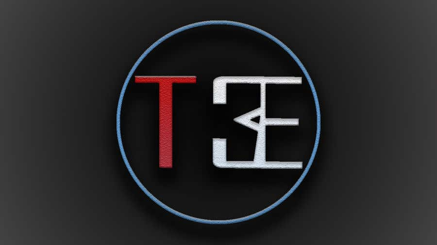 Contest Entry #112 for Logo with word: T3E using the following colors: white, red, light blue