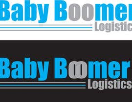 #57 para Logo Design for Baby Boomer Logistics, LLC. por dirak696