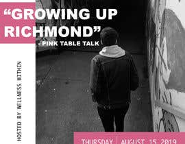 #5 for Pink Table Talk Flyer by Emilykeate