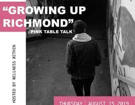#5 cho Pink Table Talk Flyer bởi Emilykeate