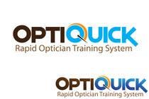 Logo Design for OptiQuick - Rapid Optician Training System için Graphic Design6 No.lu Yarışma Girdisi