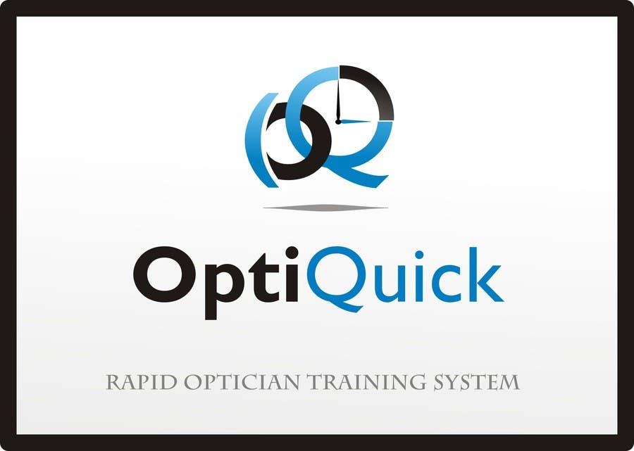 Penyertaan Peraduan #49 untuk Logo Design for OptiQuick - Rapid Optician Training System