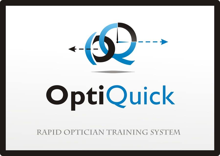Penyertaan Peraduan #50 untuk Logo Design for OptiQuick - Rapid Optician Training System