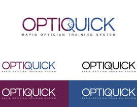 #48 untuk Logo Design for OptiQuick - Rapid Optician Training System oleh Arpit1113