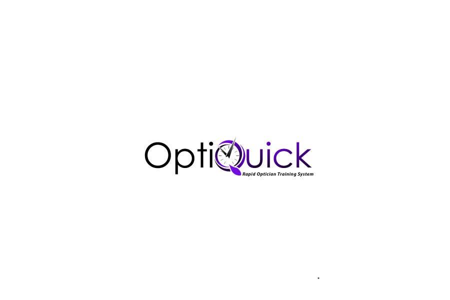 Penyertaan Peraduan #24 untuk Logo Design for OptiQuick - Rapid Optician Training System