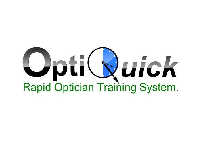Penyertaan Peraduan #27 untuk Logo Design for OptiQuick - Rapid Optician Training System