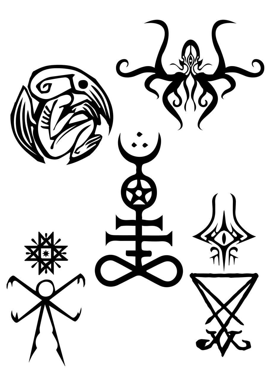 Entry 34 By Demonixxjordan For Cthulhu Mythos Cult Robe Embroidery Symbols Design 5 Jpegs Needed Freelancer The best weird tales of h. jpegs needed freelancer