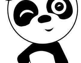 #19 для Draw a Panda, that winks от esmail2000