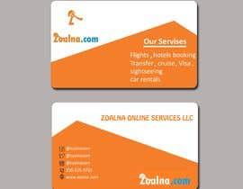 Nro 22 kilpailuun Business card for travel services  company käyttäjältä shafinislam2019