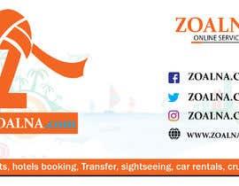 Nro 19 kilpailuun Business card for travel services  company käyttäjältä muazamali606