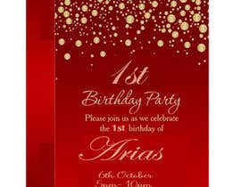 #41 for 1st bday invite by ARIFUZZAMAN12