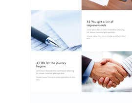 #40 untuk Design the layout of a business consultancy website oleh dotxperts7