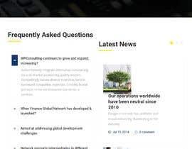 #20 untuk Design the layout of a business consultancy website oleh djangobd
