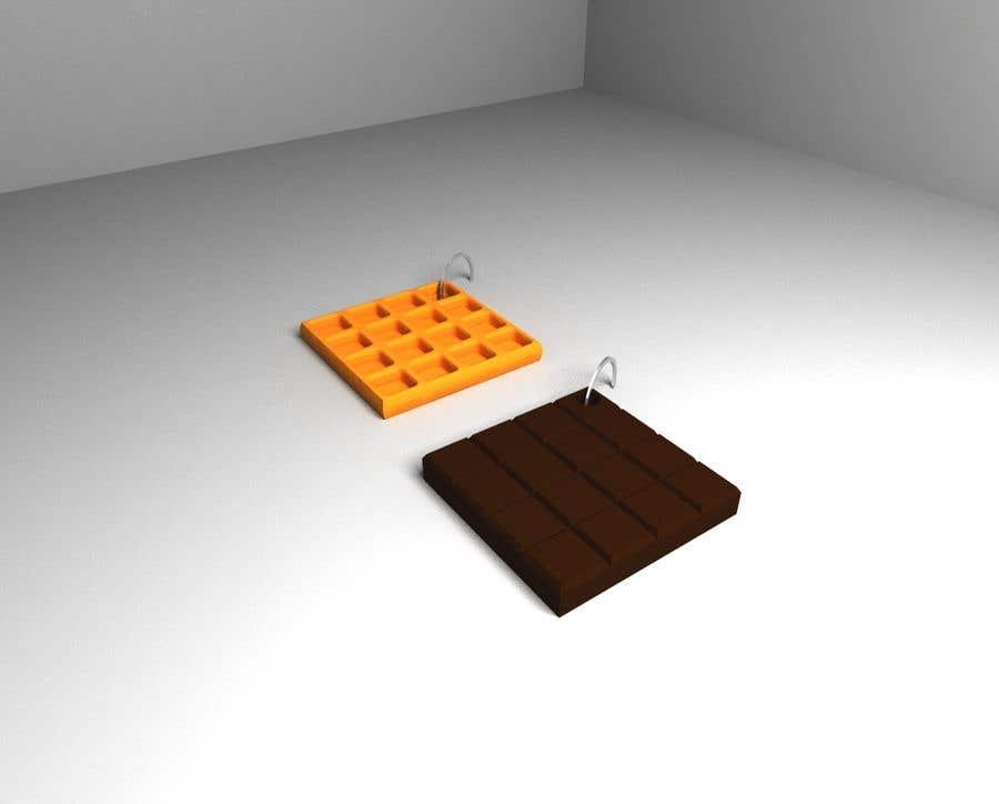 Penyertaan Peraduan #2 untuk Design 3D models for keychains