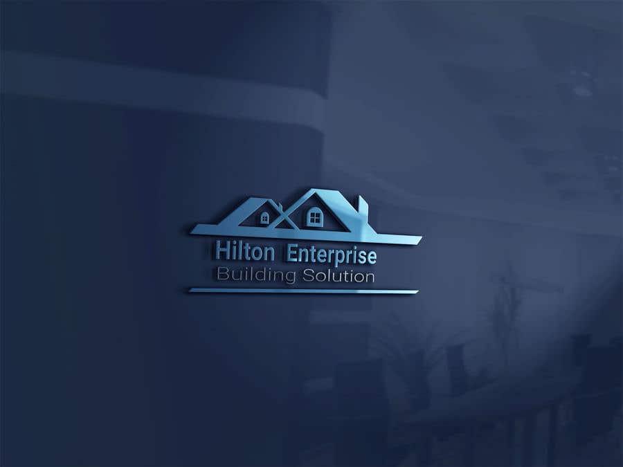 Kilpailutyö #466 kilpailussa Business logo for building company