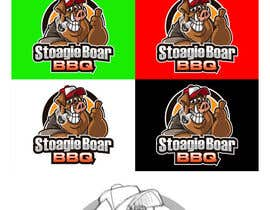 #58 untuk Stoagie Boar BBQ - Logo oleh MyPrints