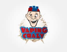 #21 for Vaping Crazy Logo Design af ser87