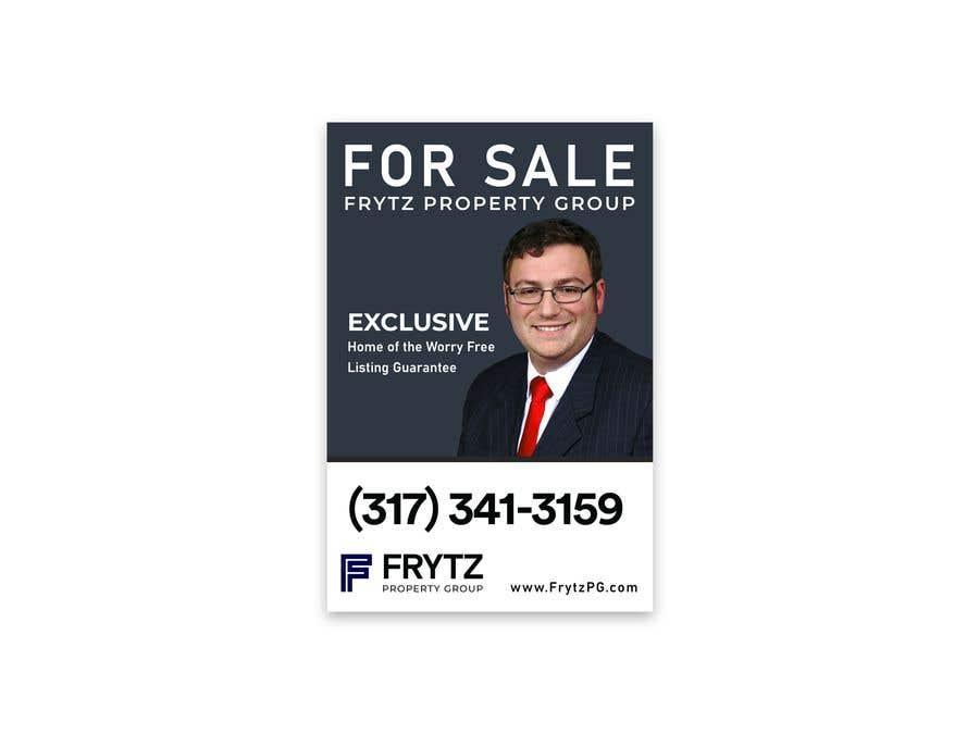Inscrição nº 22 do Concurso para Real Estate for sale sign