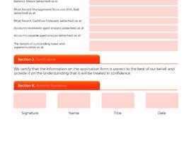 #3 for Graphic Design Application Form af artventurestudio