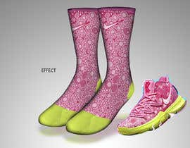 Nro 7 kilpailuun Create a fun sock design to match a shoe käyttäjältä sajeebhasan177