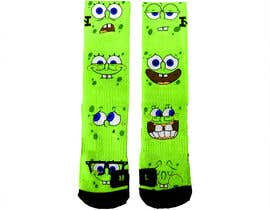 #12 for Create a fun sock design to match shoe af luphy