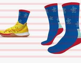 #3 cho Create a fun sock design to match shoe bởi GDesignerSneha