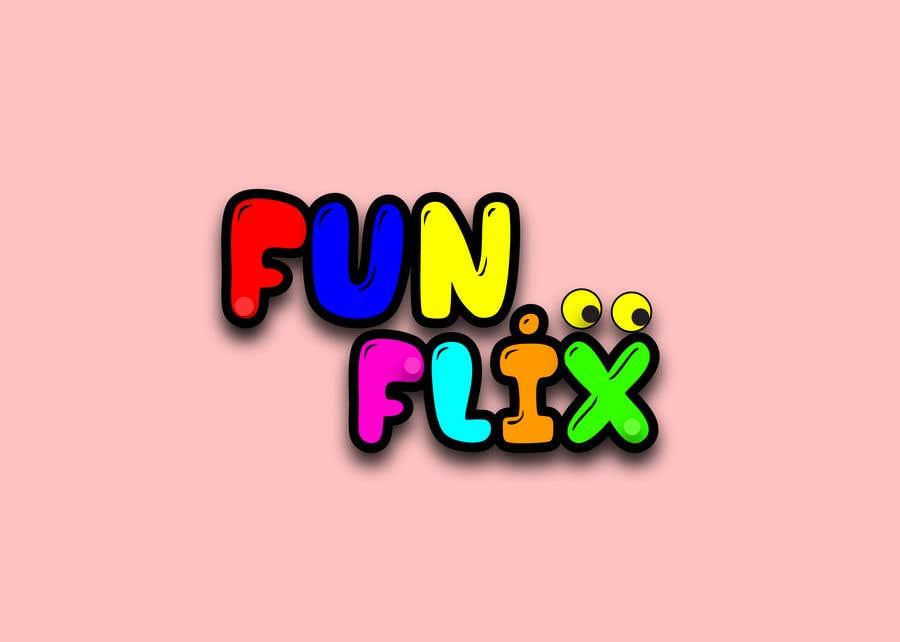 Konkurrenceindlæg #67 for FunFlix Logo for youtube channel