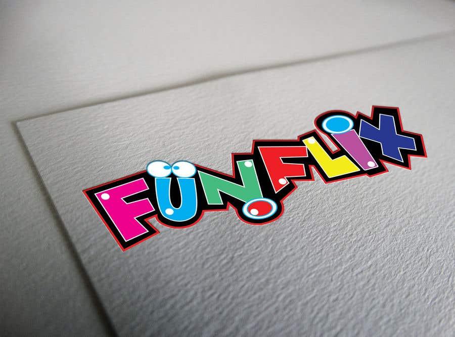 Konkurrenceindlæg #61 for FunFlix Logo for youtube channel