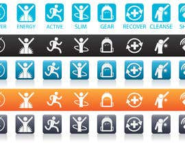 zedworks tarafından Icon Design for Website için no 4