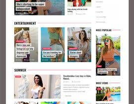 #3 for Website: Blog with user submission, and media embed by hosnearasharif
