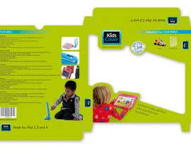 #1 untuk Packaging Design for Shockproof Kids iPad Case oleh midget