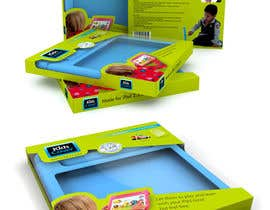 #2 untuk Packaging Design for Shockproof Kids iPad Case oleh midget