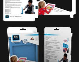 #3 untuk Packaging Design for Shockproof Kids iPad Case oleh midget