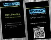 Graphic Design Konkurrenceindlæg #57 for Business Card Design for Highlight Triathlon Team
