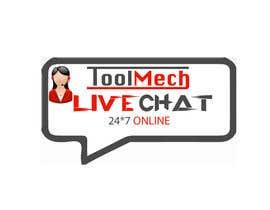 Nro 15 kilpailuun Design a live chat logo käyttäjältä MohitGarg452