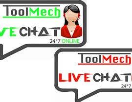 Nro 16 kilpailuun Design a live chat logo käyttäjältä MohitGarg452