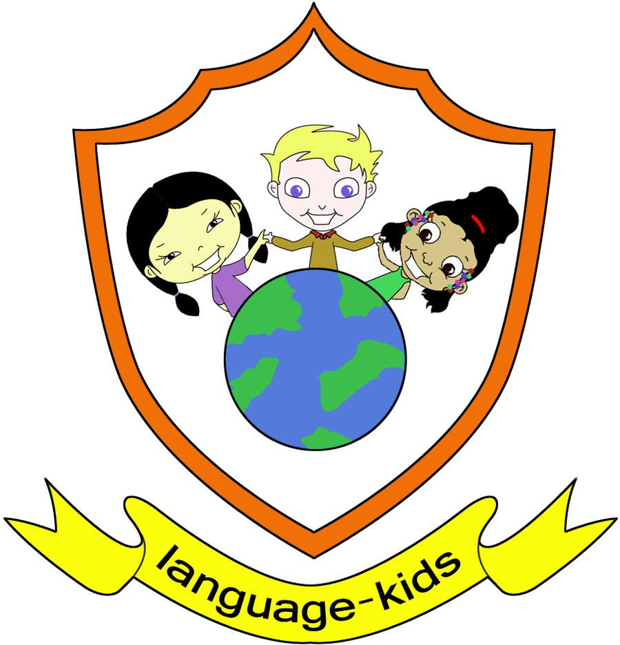 Contest Entry #                                        6                                      for                                         Logo Design for Language Kids Company / Looking for ongoing illustration and design help as well