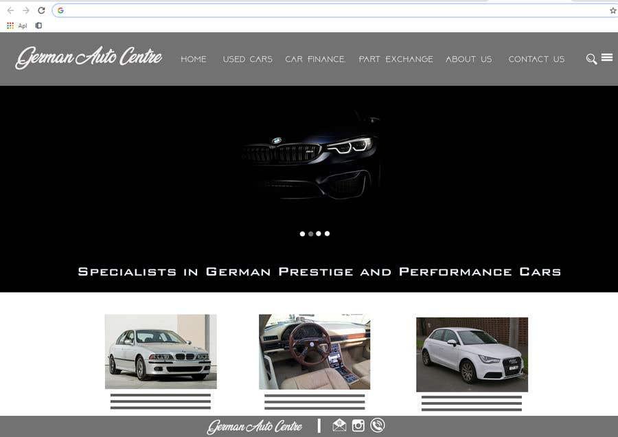 Used Car Dealer Fees >> Entry 35 By Bullshitwar For Used Car Dealer Website