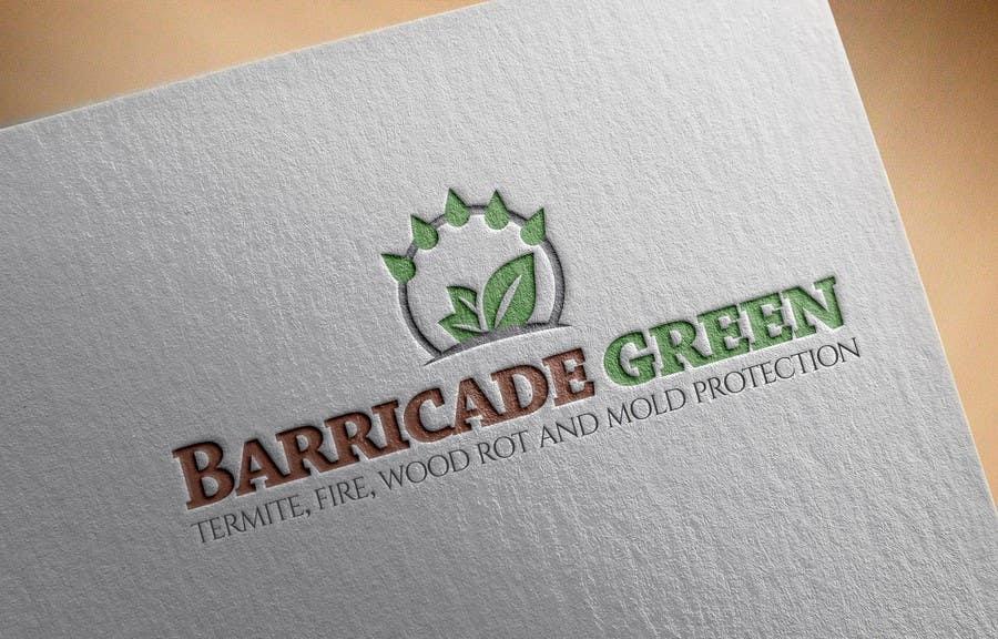Kilpailutyö #                                        55                                      kilpailussa                                         Design a Logo for BarricadeGreen