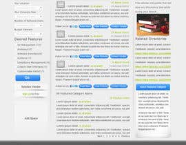 nº 11 pour Design one Search Results homepage par rana60