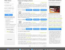 nº 15 pour Design one Search Results homepage par rana60