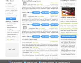 nº 17 pour Design one Search Results homepage par rana60