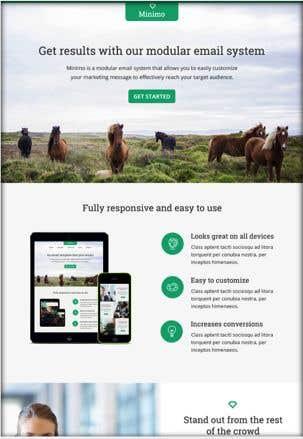 Konkurrenceindlæg #19 for Design us Email Templates