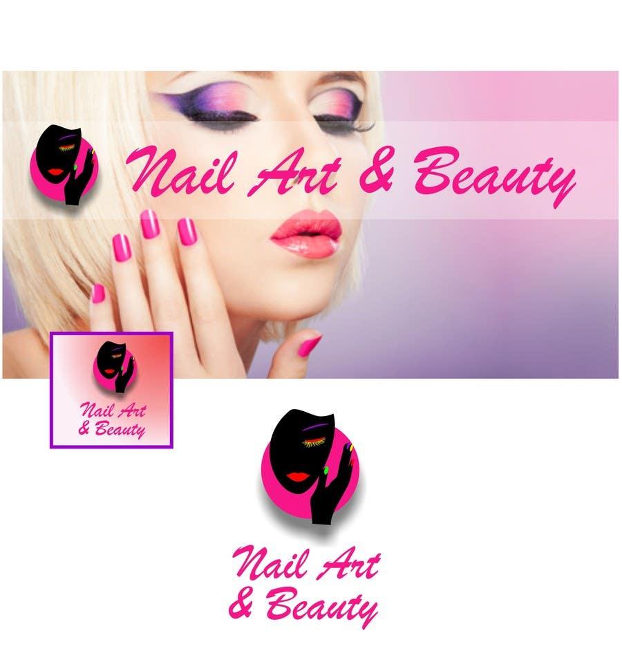 Konkurrenceindlæg #                                        51                                      for                                         Design eines Logos for Nail Art & Beauty