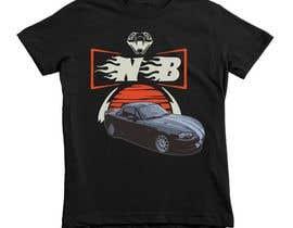 #18 untuk T-shirt design for Car Clothing - 02/08/2019 14:44 EDT oleh afsanaha