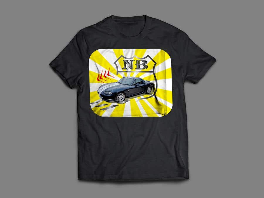 Penyertaan Peraduan #15 untuk T-shirt design for Car Clothing - 02/08/2019 14:44 EDT