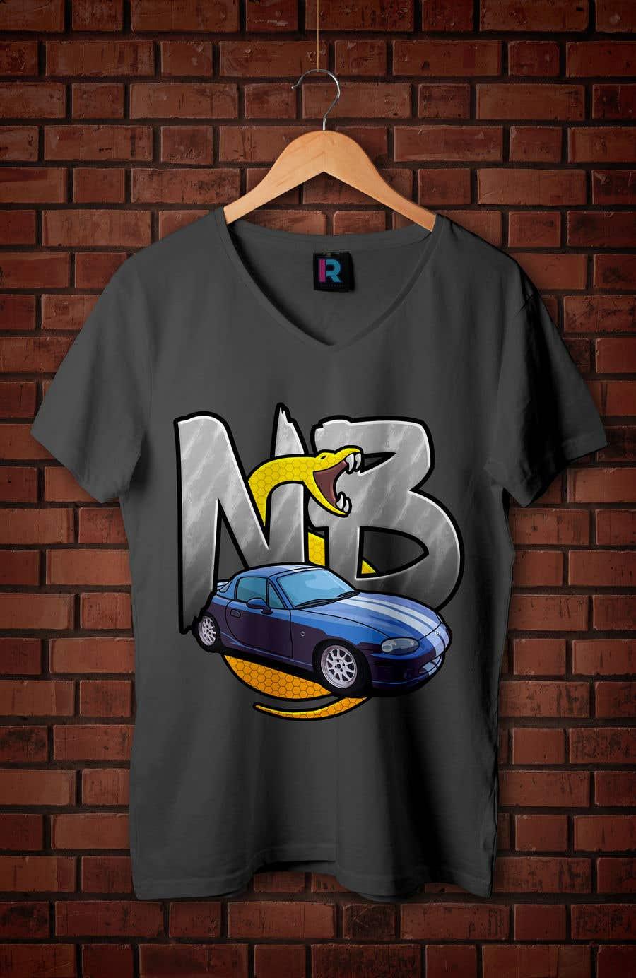 Penyertaan Peraduan #22 untuk T-shirt design for Car Clothing - 02/08/2019 14:44 EDT