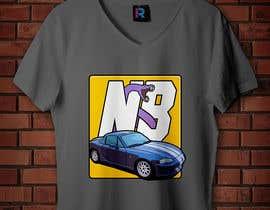 #26 untuk T-shirt design for Car Clothing - 02/08/2019 14:44 EDT oleh ianreverse